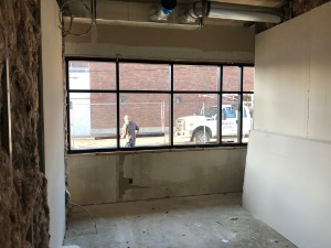 Image of brainerd construction, upstairs office