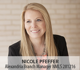 Image of Nicole Pfeffer, Alexandria Branch Manager