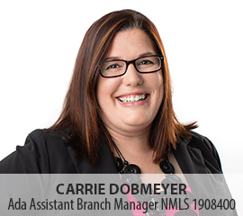 Image of Carrie Dobmeyer, Ada Assistant Branch Manager
