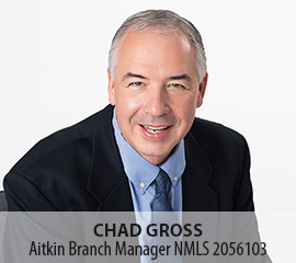 Chad Gross, Aitkin Branch Manager, NMLS 2056103
