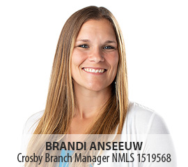 Image of Brandi Anseeuw, Crosby Branch Manager