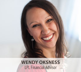 Wendy Oksness, LPL Financial Advisor Alexandria, Detroit Lakes and Staples